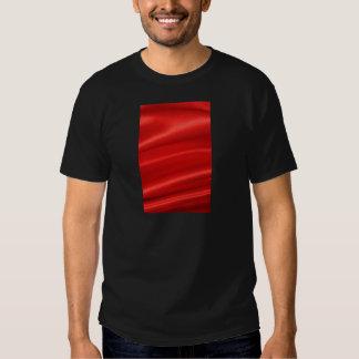 Red silk background t shirt