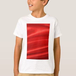 Red silk background t shirts