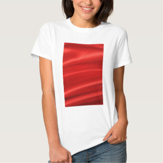 Red silk background tee shirts