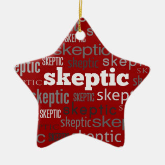 Red Skeptic Xmas/Solstice Tree Ornaments