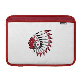 Red skin MacBook air sleeves