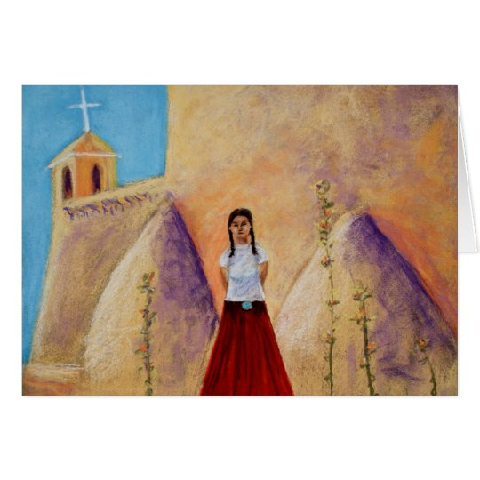 Red Skirt (ME) Card