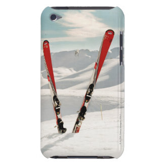 Red Skis iPod Touch Cases