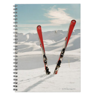 Red Skis Notebook