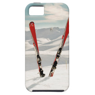 Red Skis Tough iPhone 5 Case