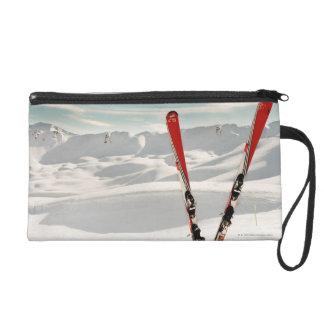 Red Skis Wristlet Purses