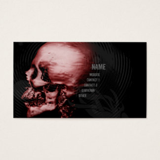 Red Skull Business Card