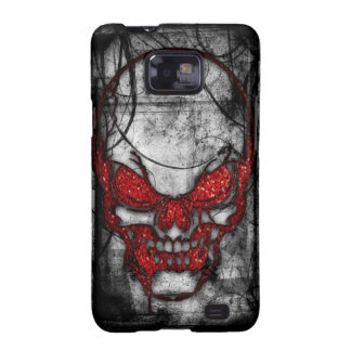 Red Skull Cover Galaxy SII Cover
