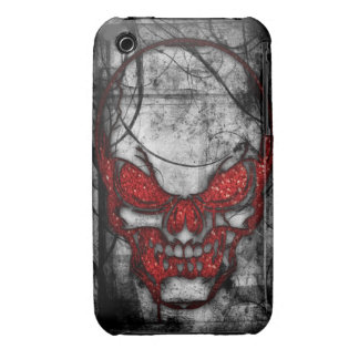 Red Skull Cover iPhone 3 Cases