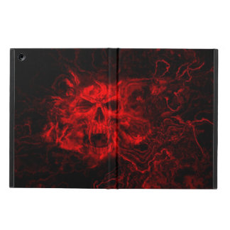 red skull iPad air cover
