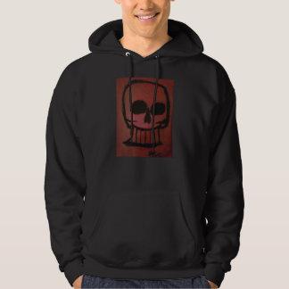 Red Skull Men's Hoodie