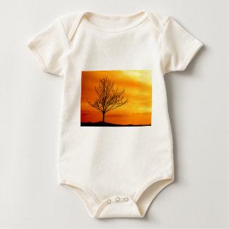 Red Sky Baby Bodysuit