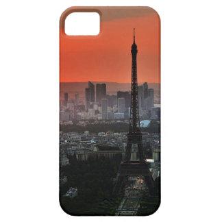 Red sky of Paris iPhone 5 Case