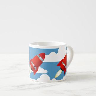 Red Sky Rocket Espresso Mug