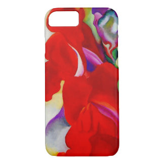 Red Snap Dragon iPhone 7 Case