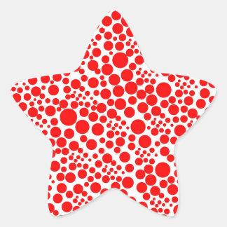 red snow pünktchen scores weihnschten red talk sticker