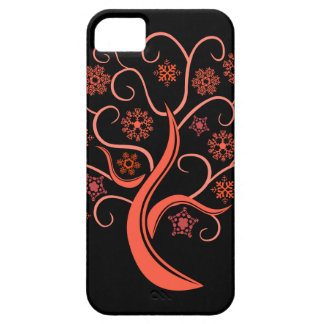 Red Snow Tree iPhone 5/5S Case