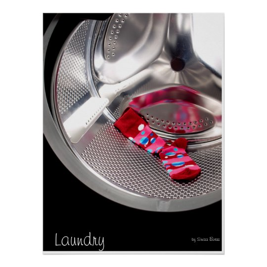 Red sock poster