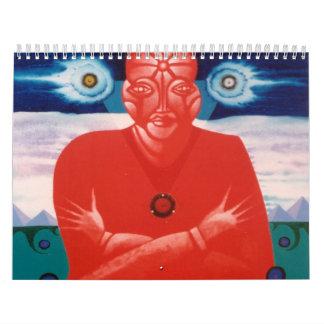 Red Soul Calender Wall Calendars