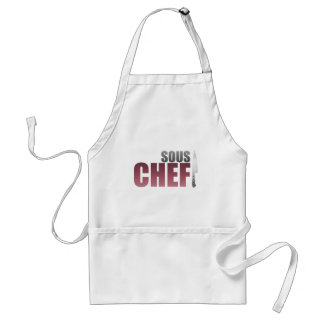 Red Sous Chef Standard Apron