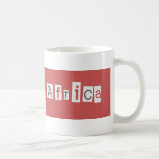 Red south africa mug