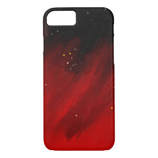 Red space mist. iPhone 8/7 case