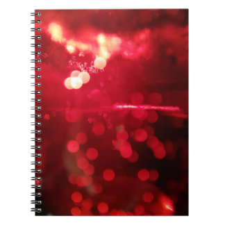 Red Sparkle notebook