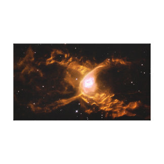 Red Spider Nebula Space Stretched Canvas Print
