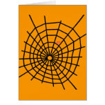 Red Spiders Web! Greeting Card