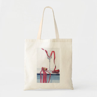 Red Spill No. 2 Tote Bag
