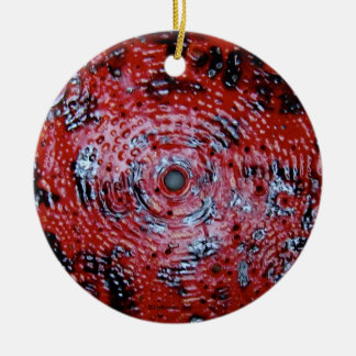 Red Spin Ornament