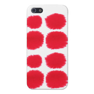 Red Splats Cases For iPhone 5
