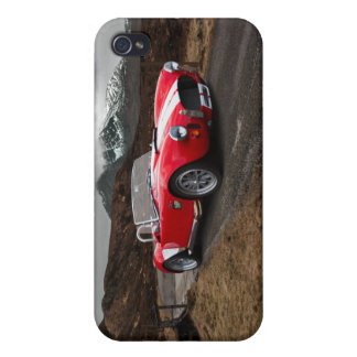 Red Sports Car iPhone 4 Matte Finish Case iPhone 4 Covers