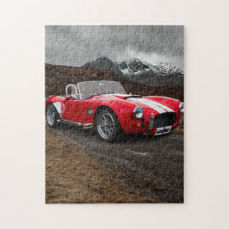 Red Sports Car Jigsaw Puzzle
