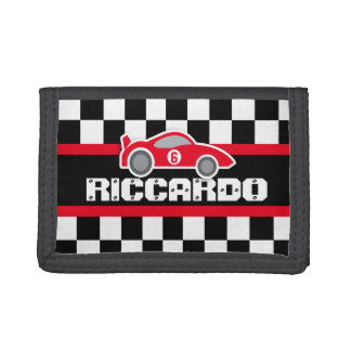 Red sports car name / age wallet