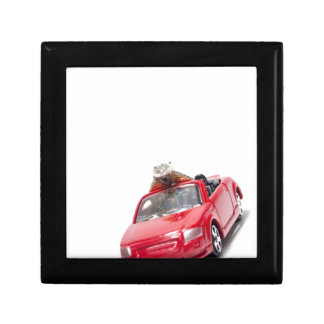 red sports car with a diamond ring keepsake boxes