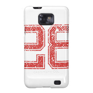 Red Sports Jerzee Number 28 Galaxy SII Case