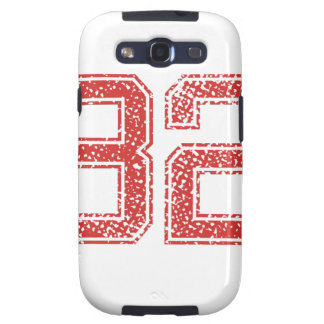 Red Sports Jerzee Number 32 Samsung Galaxy SIII Case