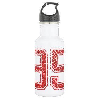 Red Sports Jerzee Number 95 532 Ml Water Bottle