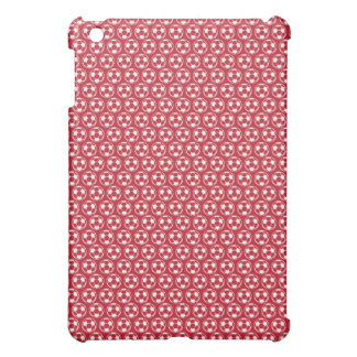 Red Sporty soccer iPad Mini case