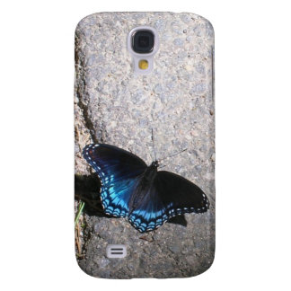 Red Spotted Admiral Butterfly Galaxy S4 Case