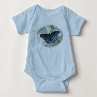 Red Spotted Purple Butterfly Baby Creeper
