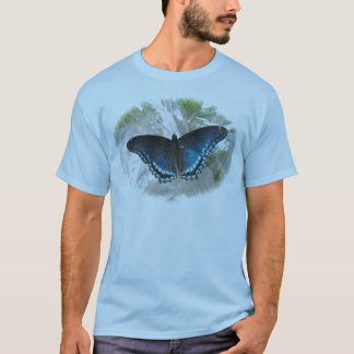 Red Spotted Purple Butterfly Men's T-Shirt
