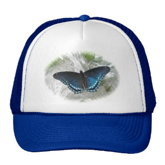 Red Spotted Purple Butterfly Series Trucker Hats