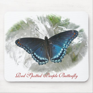 Red Spotted Purple Butterfly Series Mouse Pad