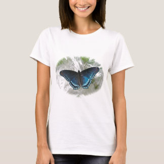 Red Spotted Purple Butterfly Women's T-Shirt