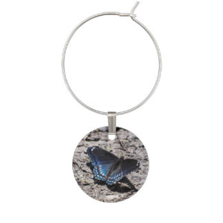 Red-spotted Purple Wine Charm