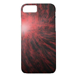 Red Spotted Spiral - Apple iPhone Case