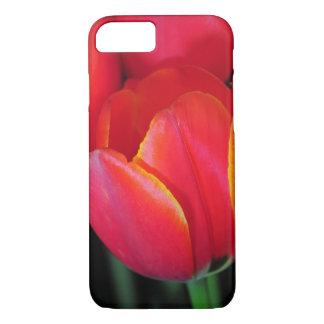 Red spring tulip iPhone 7 case