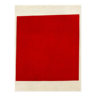 Red square by Kazimir Malevich Postcard